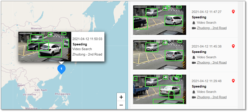 vehicle speed detection